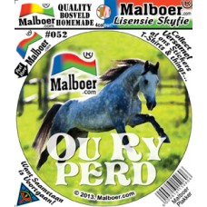 "Malboer© ""Ou Ry Perd"" Sticker"