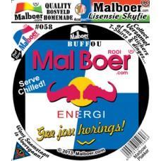 "Malboer© ""Red Boer"" Sticker"