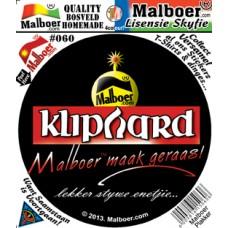 "Malboer© ""Kliphard"" Sticker 60"