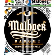 Malboer© DAUGHT Sticker 63