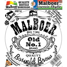"Malboer© ""Mampoer"" White Sticker 74"