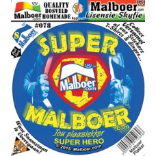Super Malboer© Sticker 78