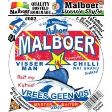 Malboer© Visserman Sticker 82