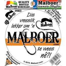 "Malboer© ""Dis lekker"" Sticker 83"