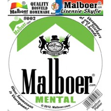 Malboer© Sticker Mental