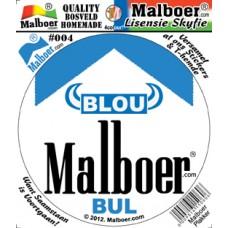 Blou Malboer© BUL Sticker