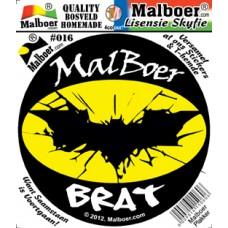 Malboer© Brat Sticker