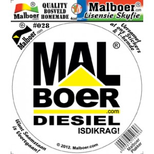 Malboer© Sticker