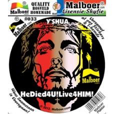 "Malboer© ""Yeshua"" Sticker 33"