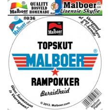 "Malboer© ""Topskut"" Sticker 36"