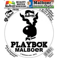 Malboer© Playbok Sticker 38