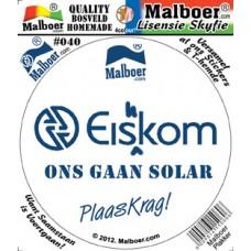 """Malboer© """"Eishkom"""" Sticker 40"""