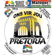 """Malboer© """"Pretoria"""" Sticker 41"""