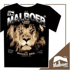 Malboer© Leeu Black Tshirt