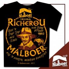 RicherOu Malboer© Black Tshirt