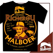 RicherOu Malboer© Black Tshirt