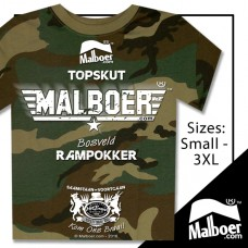 Malboer© Topskut Camo Tshirt