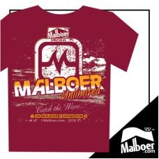 Malboer© Unlimited Maroon Tshirt